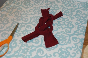 No sew Headband step 5
