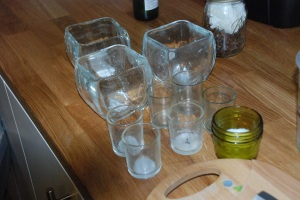 Empty Candle Containers