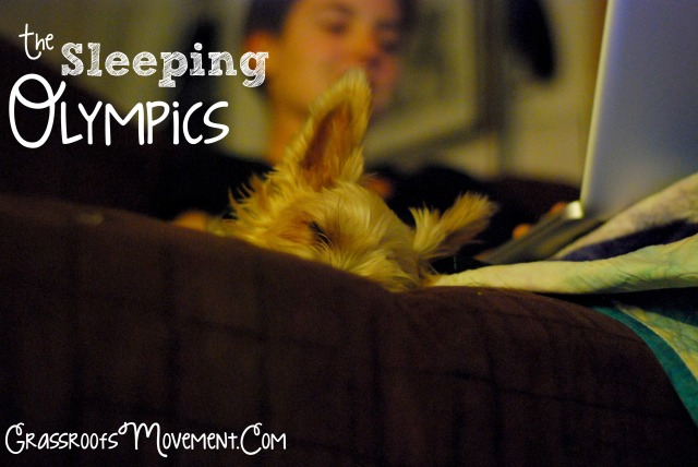 The Huxley Diaries: The Sleep Olympics